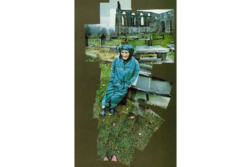 David Hockney - My Mother, Bolton Abbey, Yorkshire, Nov 1982