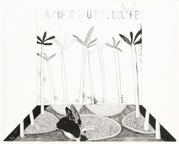 David Hockney-Pacific Mutual Life-1964