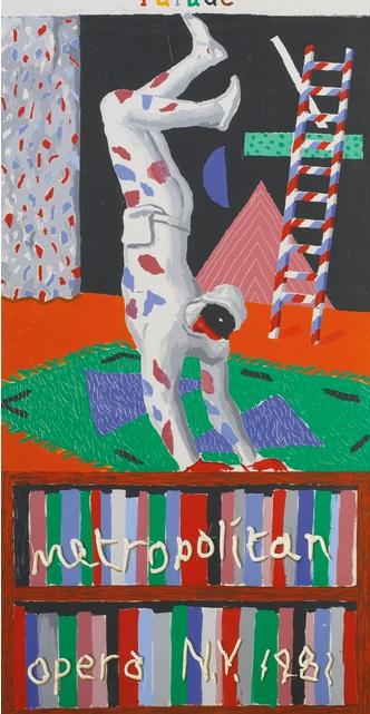 David Hockney-Parade, Metropolitan Opera-