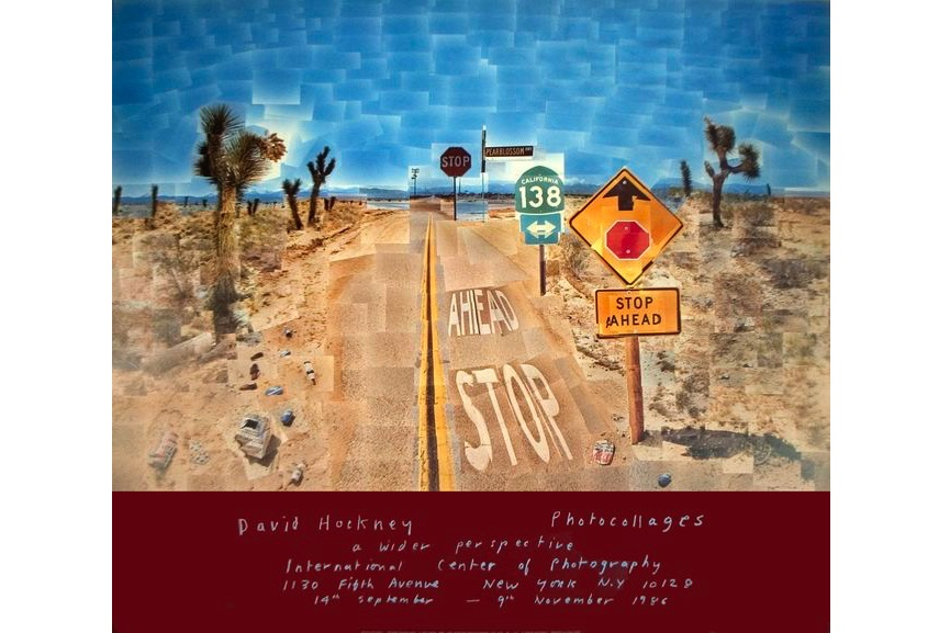David Hockney - Pearblossom Highway, 1986