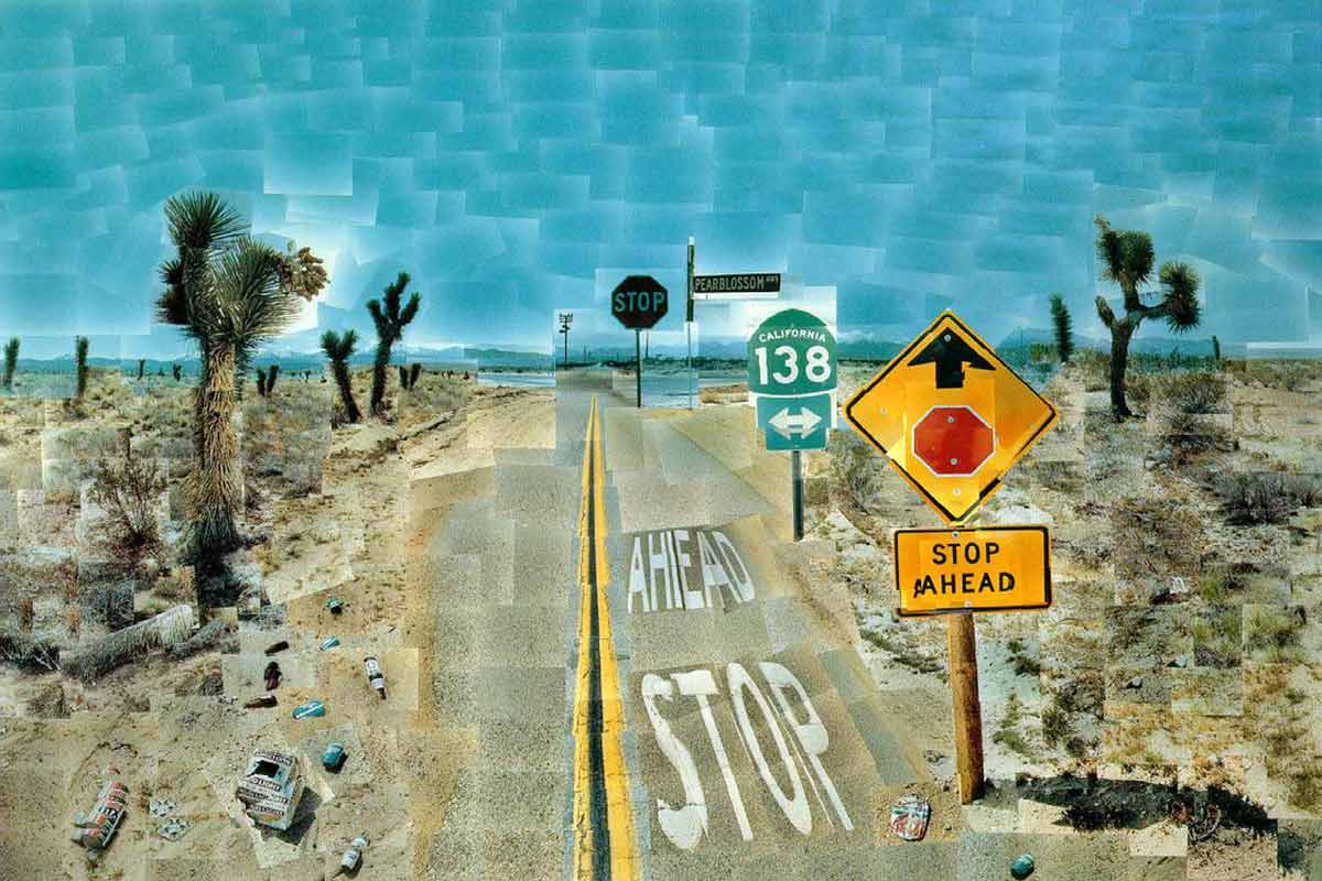 David Hockney is one of the most famous British painters of modern art