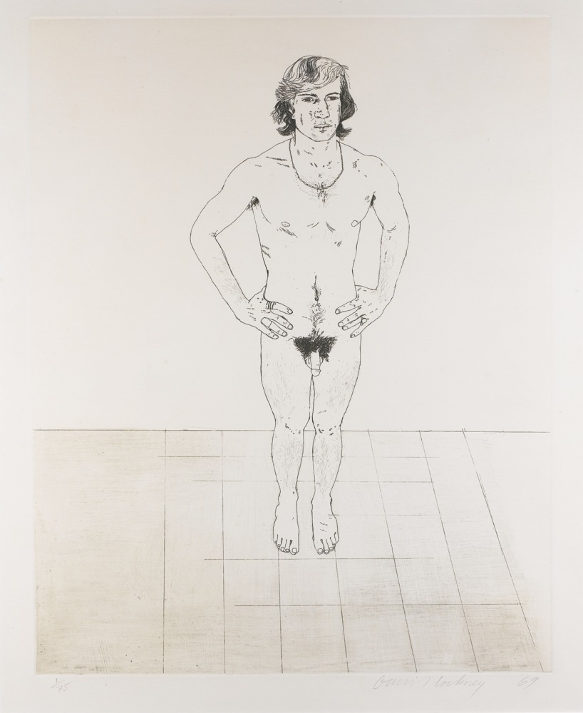 David Hockney-Peter-1969