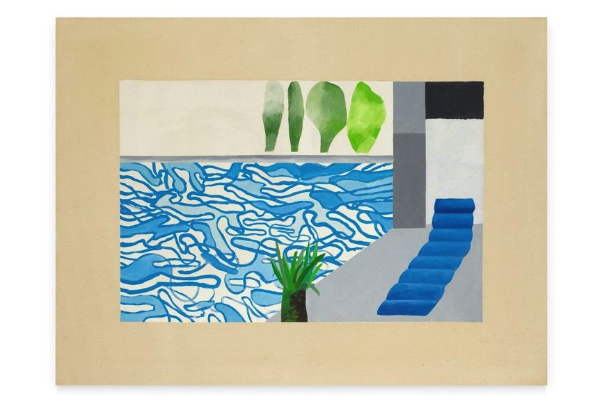 David Hockney - Picture Of A Hollywood Swimming Pool, 1964