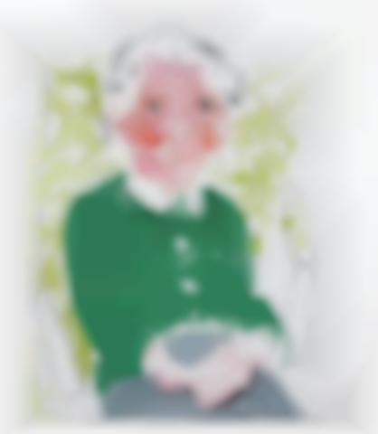 David Hockney-Portrait of Mother I, from the Moving Focus Series-1985