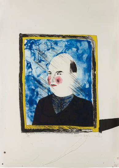 David Hockney-Portrait of Rolf Nelson-1968