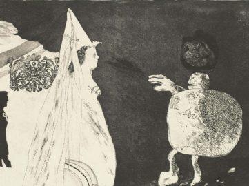 David Hockney - Rumpelstiltskin (detail), 1962