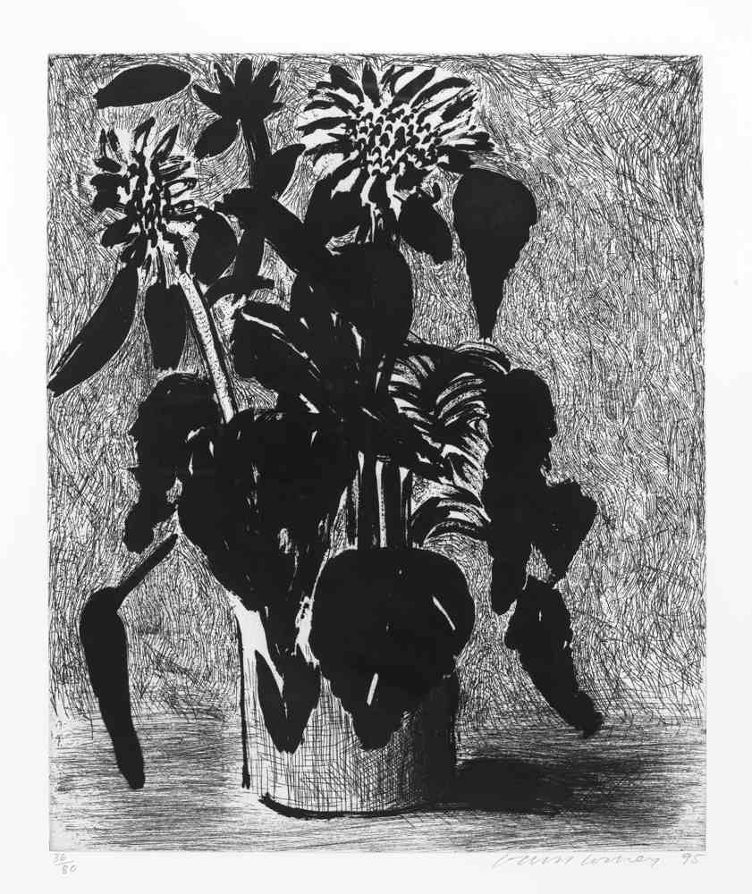 David Hockney-Sunflower I-1995