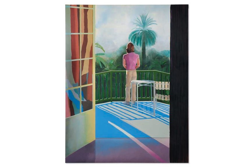 David Hockney - Sur La Terrasse, 1971