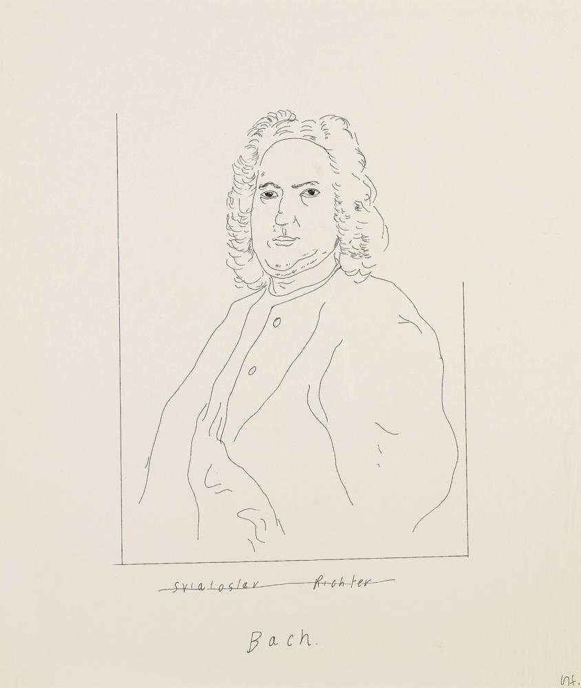 David Hockney-Sviatoslav Richter-