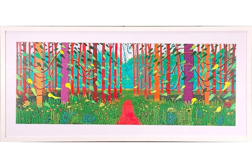 David Hockney - The Arrival of Spring in Woldgate East Yorkshire