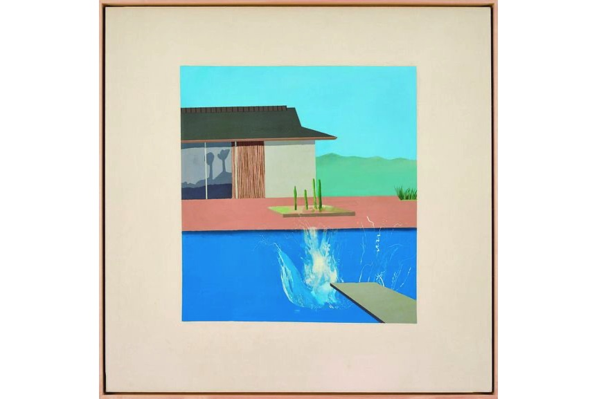 David Hockney - The Splash, 1966