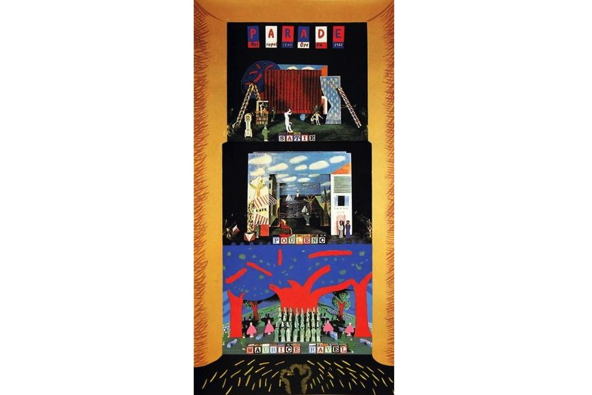 David Hockney - Triple Bill- The Rite of Spring, Le Rossignol, and Oepidus Rex, 1980