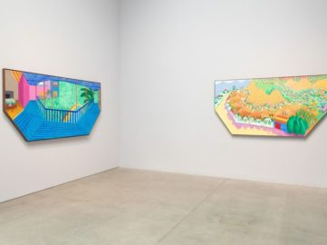David Hockney at Pace, Installation View