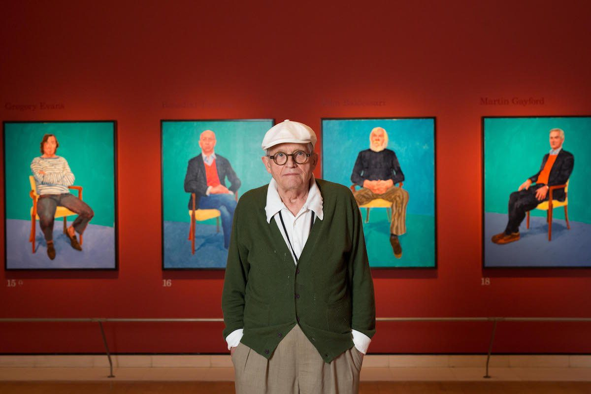 David Hockney. ©David Parry: Royal Academy of Arts