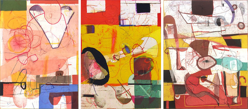 David Kelso - Float, 1993 - Mockingbird, 1995 - Wheel, 2007