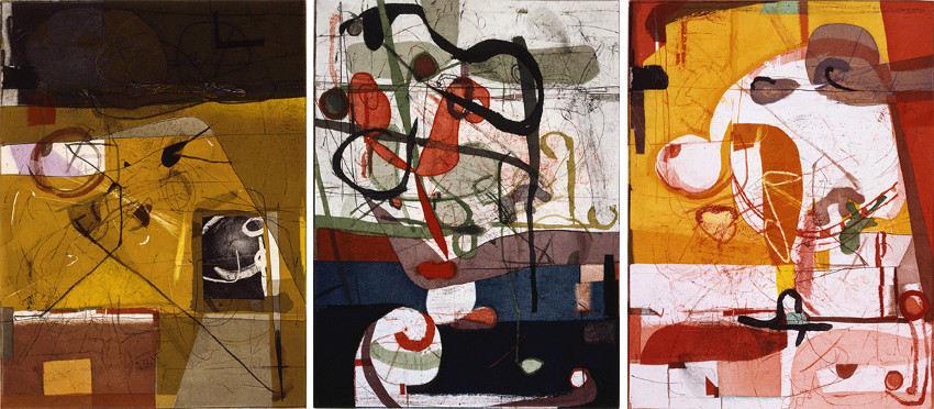 David Kelso - Waethering, 1998 - Rank - Sept, Morn