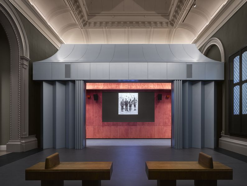 David Kohn Architects, V&A Photography Centre, 2018, on view in 2019 in london