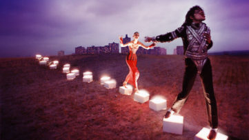 David LaChapelle - An illuminating path, 1998, Courtesy of the American singer, David LaChapelle