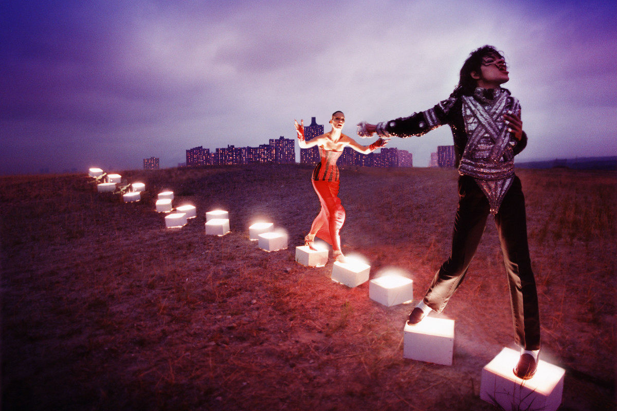 David LaChapelle - An illuminating path of songs, 1998, Courtesy of the American singer, David LaChapelle