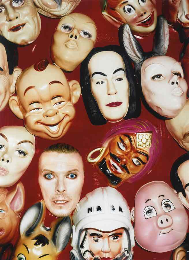 David LaChapelle-David Bowie: Face Masks-1995
