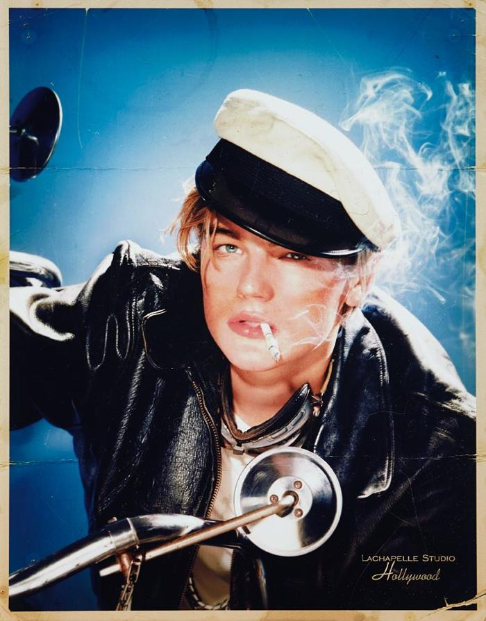 David LaChapelle-Leonardo DiCaprio: Nostalgic Styling-1996