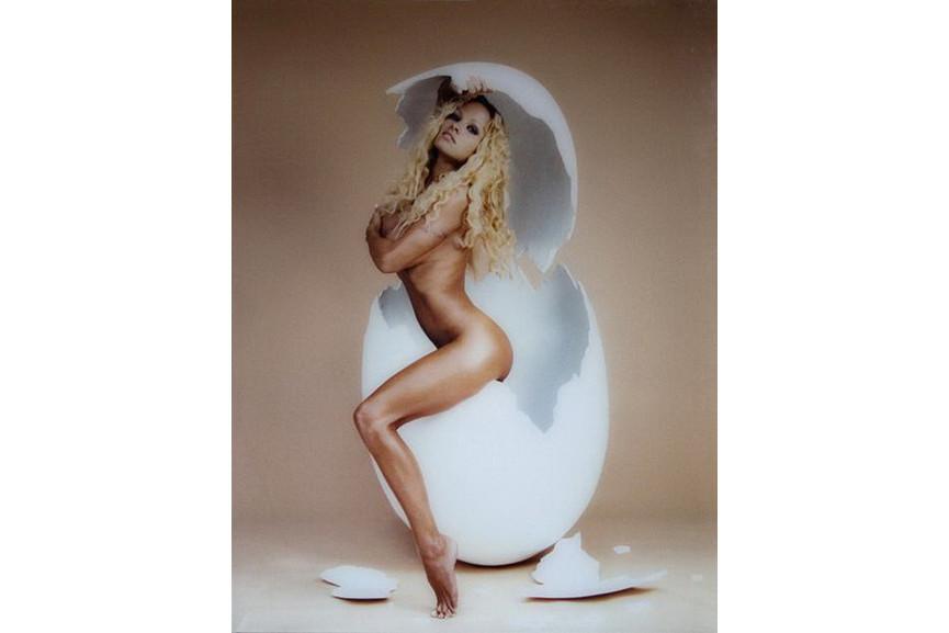 David LaChapelle - Pamela Anderson overeasy