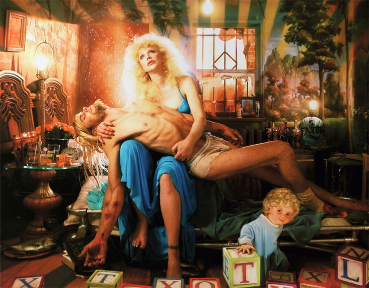 David Lachapelle - Heaven to hell, 2006, detail