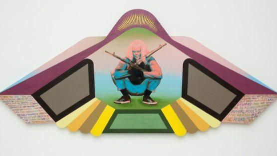 David Lloyd - The Warror, 2012 - Courtesy of the artist
