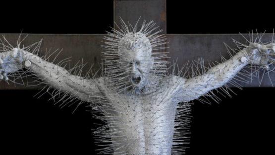 David Mach - Die Harder (detail), 2011, photo via transpositions.co.uk
