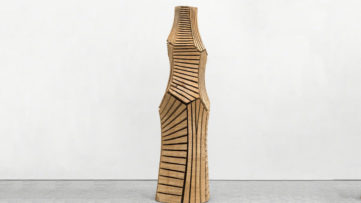 Cut Column by David Nash