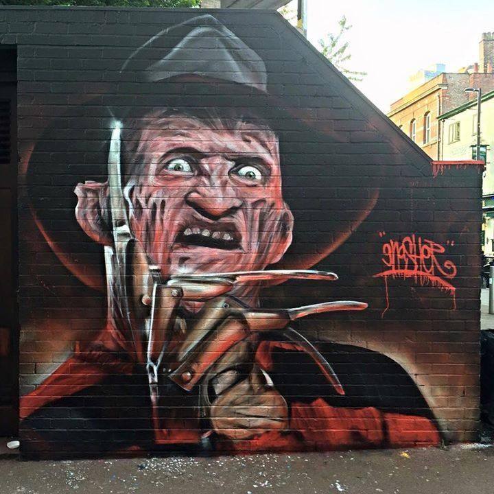 graffiti monsters