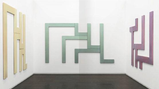 David Novros - exhibition view at the Museum Kurhaus Kleve