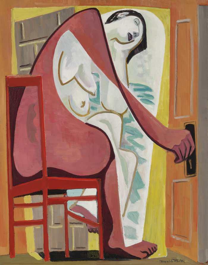 David Park-Seated Figure-1939