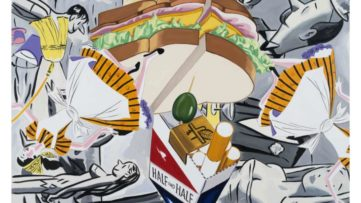 David Salle - A Night in the Sky with Friends