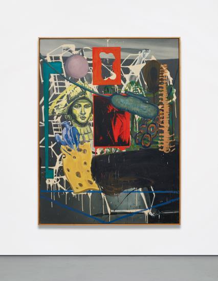 David Salle-Beastiary-1992