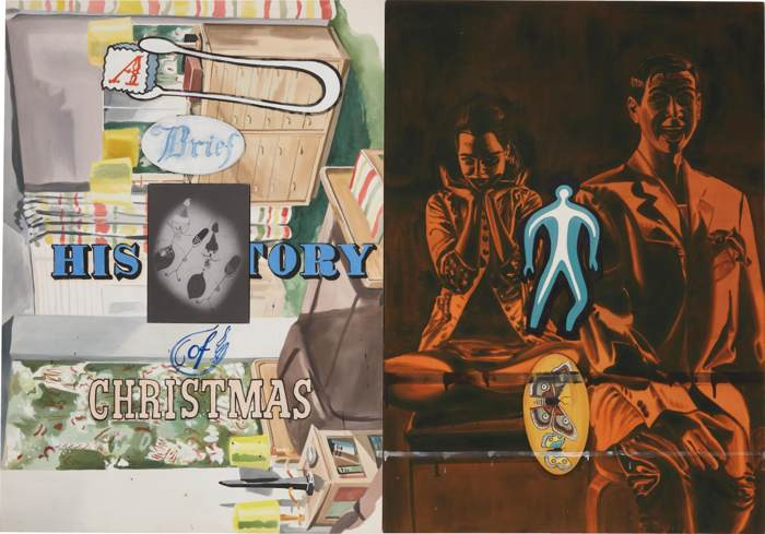 David Salle-History of Christmas-1996