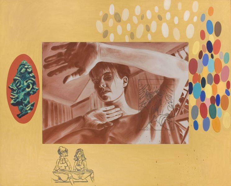 David Salle - Reliance, 1985