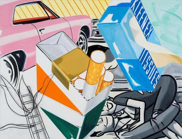 David Salle - Shining In All Directions