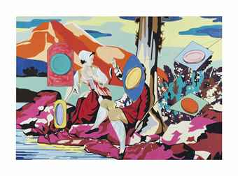 David Salle-Untitled (Pastoral)-2001