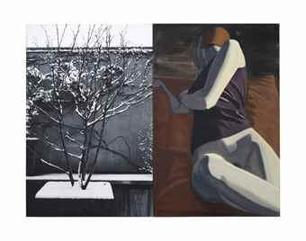 David Salle-Winter Terrace-2009