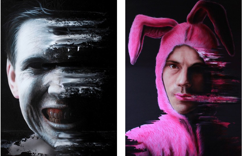 Untitled #1 (Left) / Untitled #2 (Right) - street