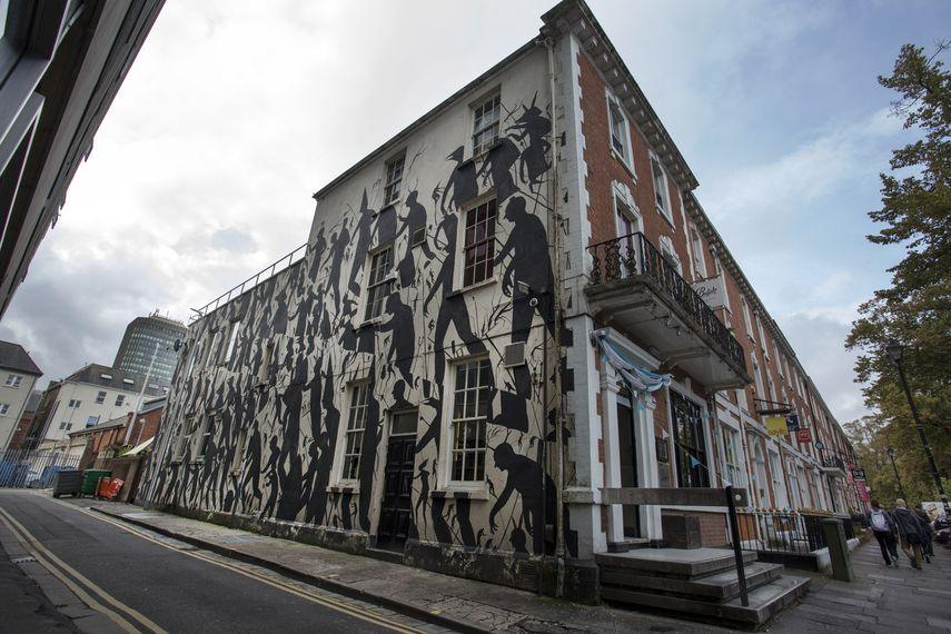 David de la Mano - Empty Walls Festival, 2014, Cardiff, UK