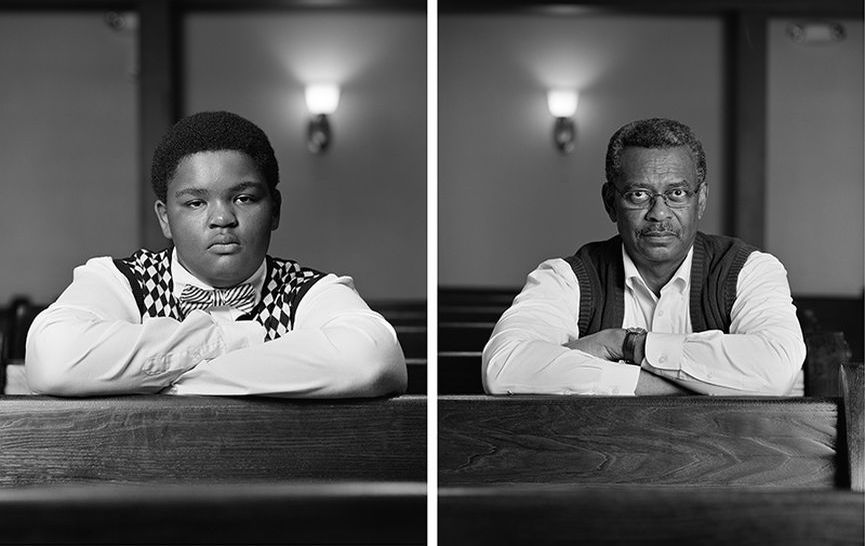 Dawoud Bey - The Birmingham Project - Trentin Williams and Willie Robinson, 2012