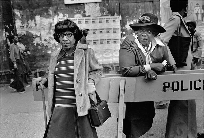Dawoud Bey - Two Woman at a Parade, 1978