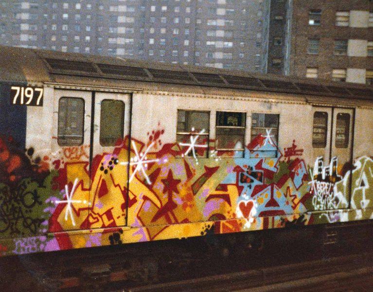 Daze Train Graffiti