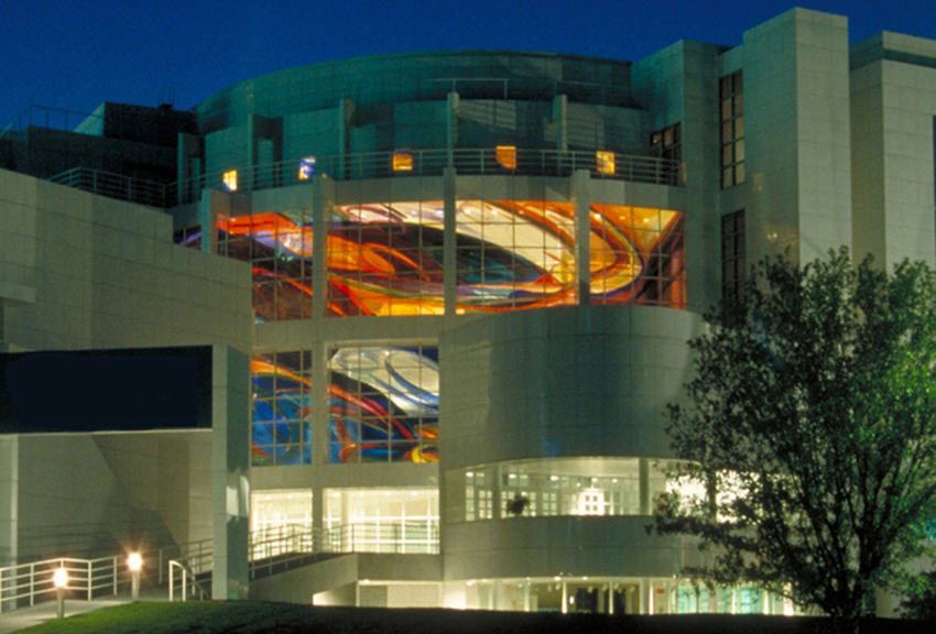 Deanna Sirlin - Retracings, 60 x 90 feet, High Museum of Art, Atlanta, Georgia, USA