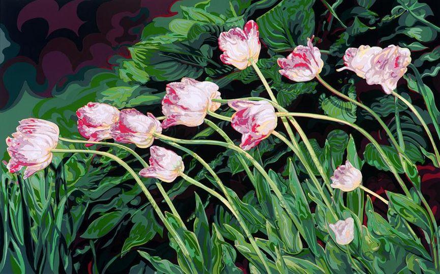 Deborah Claxton - Julie's Tulips, 1998