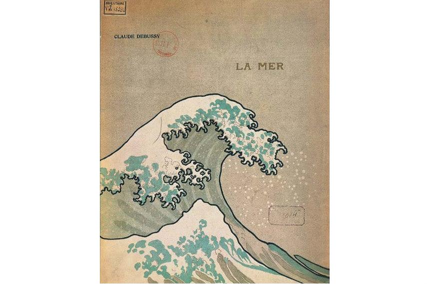 Claude Debussy - La Mer cover, 1905