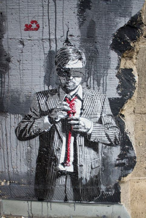 Decycle - Down to Business, Tacheles, Berlin, Germany, 2012 - Image Copyright Street Art Berlin