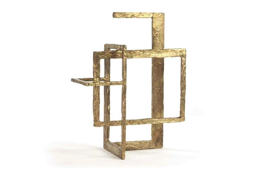 Delphine Brabant - Bronze Block, 2015